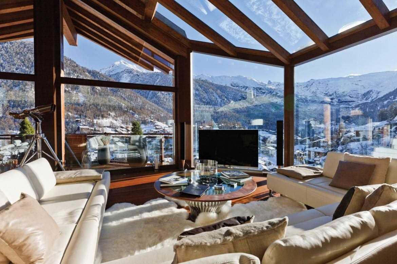 בבקתת Zermatt Peak עם נוף עוצר נשימה